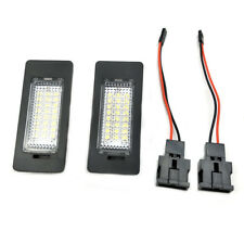 Car LED License Plate Light Number Lamp for A4 S4 A5 S5 Q5 TT Passat 3528SMD X2