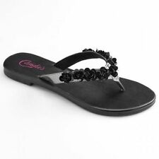 ceb9fb0b492cb4 Candie s Sandals and Flip Flops for Women