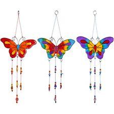 Beautiful Small Butterfly Suncatcher 12 x 29 cm - Choice of 3 Rainbow Colours