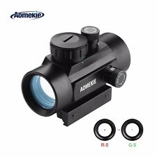 30mm Red Dot Sight Rifle Airsoft Sight Scope w/20mm/11mm Weaver Picatinny Mount