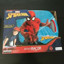Marvel Spiderman Scoot Racer Ride On Caster Board
