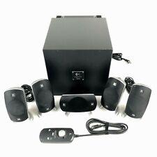 Logitech Z-5300 THX 5.1 Full Surround Sound Computer Speaker System TESTED WORKS