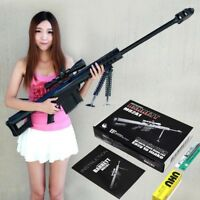 1:1 Scale M82A1 Sniper Rifle 3D Paper Model Cosplay DIY Kit Gun Weapon Military