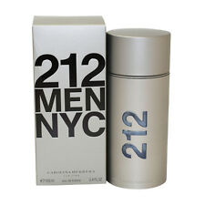 212 Cologne for Men By Carolina Herrera Eau De Toilette Spray 3.4 oz