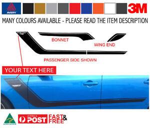 FG Ford Falcon ESM 2011 GT HOCKEY Stripe Decal Kit to fit a SEDAN 3M-50