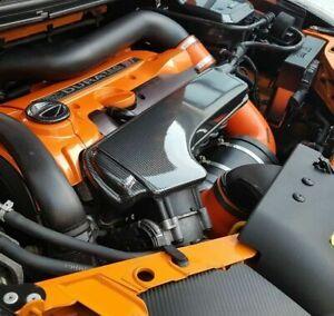 Ford Focus Mk2 ST RS Air Inlet Plenum Cover Carbon Fibre Effect ABS