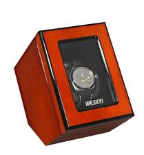 Boxy Single Wooden Watch Winder Elegant  BX-DC-01D Brand New Watch Winder