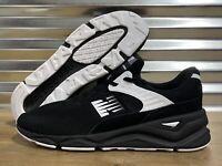 New Balance X-90 X90 Running Shoes Black White Oreo Knit SZ ( MSX90PLF )