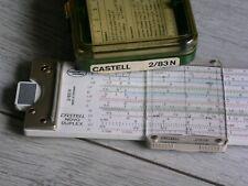 Rechenstab Novo Duplex 2/83N   von Faber Castell , mit Etui