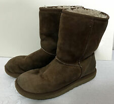 UGG AUSTRALIA women WINTER BOOT 5825 US 6 Classic Shorts leather Sheepskin L454