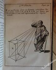 EO LAMY Traité de perspective où sont contenus les fondemens de la Peinture 1701