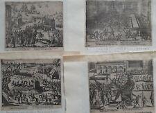 Antwerpen 1579 Baudart 4 prenten