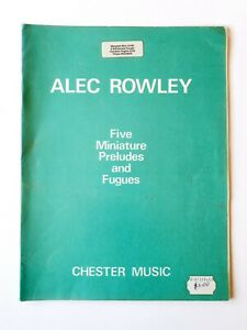 Five Miniature Preludes and Fugues by Chester Music