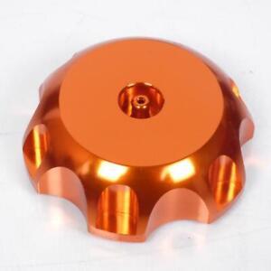 Tappo Del Serbatoio IN Alluminio Arancione Moto Suzuki 450 Rmz 741-NO Nuovo