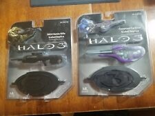 Halo 3 Master Replicas Covenant Carbine and Battle Riffle Die Cast 1/6 scale New