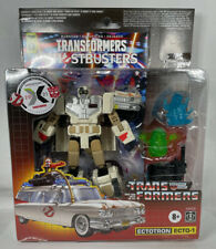 Ghostbusters - Transformers Generations Ectotron ECTO-1 with Comic - Target Excl