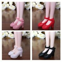 4 Pairs Fashionable 1/6 Doll High Heel Shoes For Blythe Licca Doll Shoes