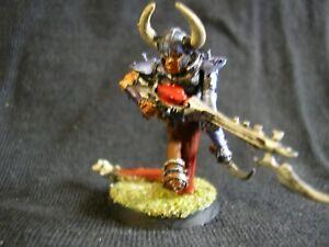 WH40K Drukhari Dark Eldar Sslyth Painted Hero