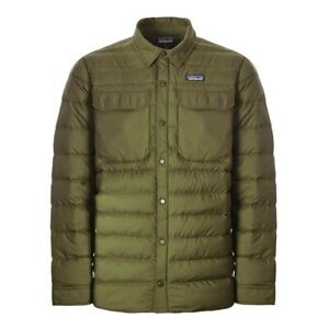 Patagonia Mens XXL SILENT Down Shirt Puff Jacket. Measurements in listing text.