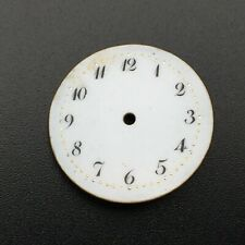 White Porcelain Dial (Watch-face) Antique Swiss Pocket Watch Original