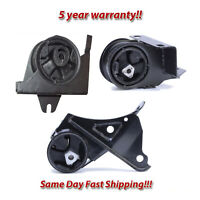 Front R Engine & Trans Mount 3PCS. 96-00 for Chrysler Town & Country 3.3L 3.8L