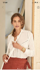 Sézane Calista shirt (blanc cassé, taille 40)