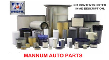 Nissan Navara filter kit air oil fuel cabin SUITS NP300 2.3Ltr YS23 4/15 - ON