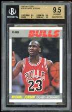 Michael Jordan Card 1987-88 Fleer #59 BGS 9.5 (9.5 9.5 9 9.5)