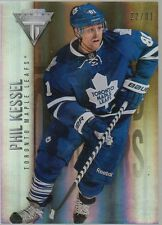 Phil Kessel 2013-14 Panini Titanium Hockey Parallel Insert Card 43/81 *R1024