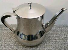 Large Vintage en Acier Inoxydable Théière/cafetière/HOTWATER pot, 3.5 PT