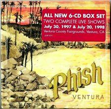 Phish - Ventura Box Set Live 7/20/97 & 7/30/98 CD [6CD BoxSet] New Sealed CDs