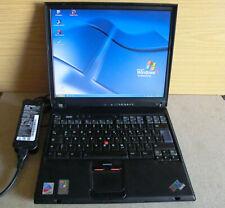IBM ThinkPad T42,Intel Pentium M CPU 1,70GHz,40GB HDD, WLAN,768 MB Ram