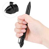AG/_ Multi-function Aviation Pen Anti-Slip Self Defense Tool Black Gift for Women