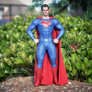 """Sideshow Hot Toys MMS 465 Justice League Superman 12"""" 1/6 Scale Henry Cavill"""