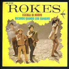 """The Rokes : Eccola di nuovo - vinile 45 giri / 7"""""""