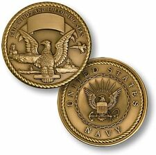 U.S. Navy / Fair Winds and Following Seas - USN Challenge Coin