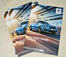 BMW 1-Series Sales Brochure, 2018+19 Int'l English Editions (F20 LCI facelift)