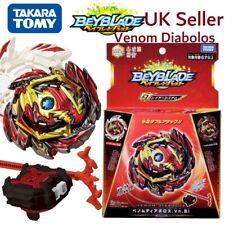 UK SELLER Beyblade Burst - VENOM DIABOLOS w/launcher - TAKARA TOMY - Sealed