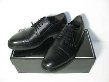 CESARE PACIOTTI Schwarz Leder Schnürer Halbschuhe Schuhe Business-Schuhe Gr.7/41