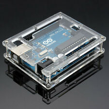 Transparent Acrylic Case Cover Shell Enclosure Computer Box For Arduino UNO R3#J