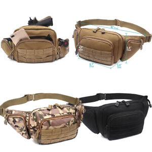 Concealed Carry Fanny Pack Holster Tactical Carry Pistol Bag Mens Gun Carry