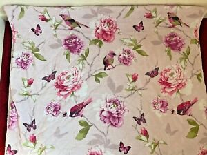 Dreams And Drapes Secret Garden Quilted Bed Cover Bedspread Throw 229cm x 195cm