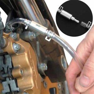 Motorcycle Car Brake Bleeder Clutch Bleeding Tool One Way Valve & Tube Kit UK