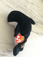 RARE Waves with Echo Tags - Ty Beanie Baby (4th Gen Swing Tag, 3rd Gen Tush Tag)