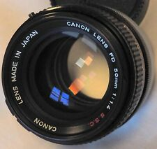 Canon Lens FD 1,4/50mm S.S.C.