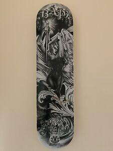 Element Bam Margera & Kat Von D Skateboard Deck Limited Edition Signed By Kat