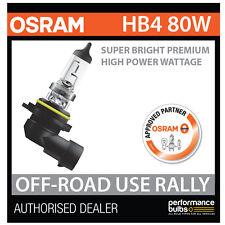 NEW! 69006SBP OSRAM HB4 9006 80W SUPER BRIGHT PREMIUM OFF-ROAD RALLY BULB (x1)