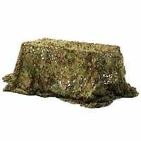 2X2M Hunting Military Camouflage Net Woodland Camo Netting Cover Dark Jungle New