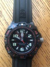 Luminox Watch Sentry Series 0200 Red Dial Swiss Quartz 100m Water Resistant