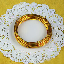 5M/Roll Dia.1mm Colorful DIY Aluminum Wire Wrap Cord Cable Jewelry Making Craft